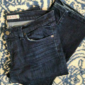 JBrand Straight Leg Jeans 28 Solid Dark Blue